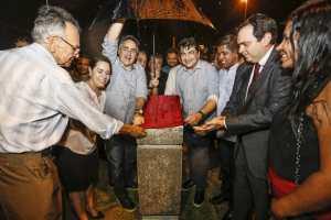 Luciano Cartaxo entrega Praça da Família e destaca gestão que responde às necessidades do povo
