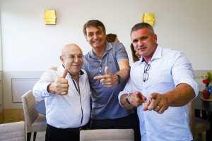 Ney Sussuna reaparece e Julian Lemos diz que ex-senador tem gabarito até para ser vice de Bolsonaro