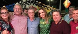 BASTIDORES: Daniella Ribeiro dá sinais que vai disputar uma vaga ao Senado