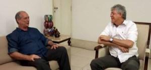 Ricardo negocia com Ciro Gomes a retirada da pré-candidatura de Lígia Feliciano ao Governo do Estado