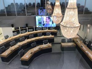 Blog do Anderson Soares antecipa imagens do no plenário da ALPB; veja como ficou