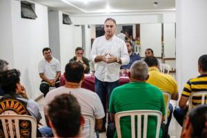 """""""Valorizar servidor público garante eficiência nos serviços"""", diz Lucélio em encontro com agentes de trânsito"""