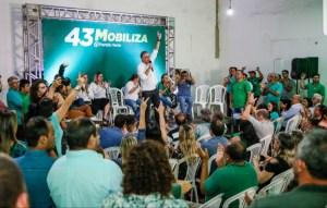 """""""Tem que ter planejamento e, principalmente, carinho pela população"""", diz Lucélio em plenária na Zona Sul de JP"""