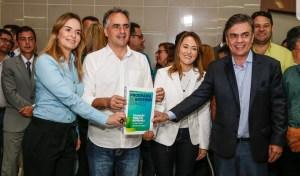 Ao lado de Micheline,  Cássio e Daniella, Lucélio Cartaxo registra candidatura no TRE