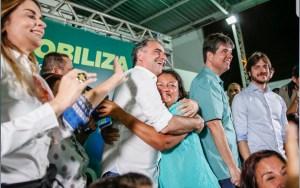 """""""Vamos aumentar o efetivo policial na Paraíba"""", diz Lucélio em Mangabeira"""