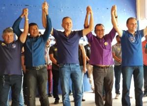Aguinaldo Ribeiro dá largada na campanha em Caturité, Boqueirão e Natuba e participa do lançamento da candidatura de Jane Panta à ALPB