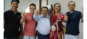 Zé Maranhão comemora adesões em Santa Rita e Algodão de Jandaíra