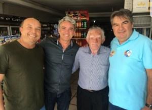 Antes de inaugurar comitê em Sousa, Lindolfo Pires visita vereadores em Campina Grande