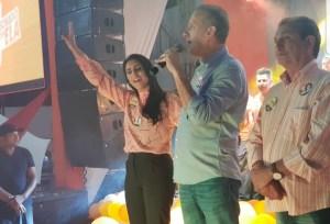 Em Sapé, Aguinaldo Ribeiro participa do lançamento da campanha de Wiviane Paiva à ALPB