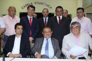 Zé Maranhão faz registro de candidatura no TRE