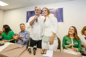 """Daniella Ribeiro une PP à pré-candidatura de Lucélio, que garante: """"nosso Governo terá equilíbrio entre homens e mulheres"""""""