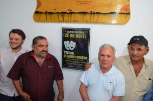 Em Cajazeiras, prefeito entrega revitalização do Centro Cultural Zé do Norte