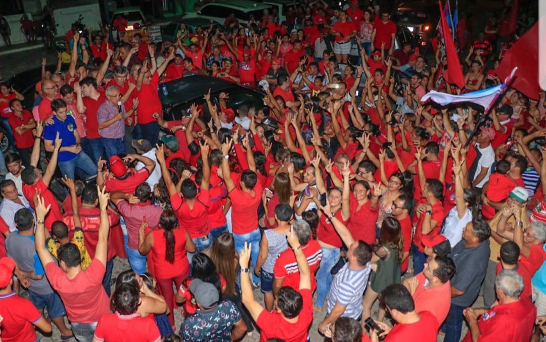 Zé Maranhão arrasta multidões em grande caravana no Vale do Piancó