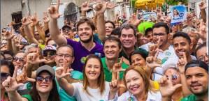 Bruno participa de reuniões e caminhadas em Campina Grande e João Pessoa no fim de semana
