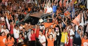 """Durante caravana em JP, João reitera Gira Mundo na UEPB e alerta: """"Paraíba não pode cair em mãos erradas"""""""