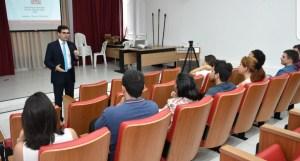 Lucas de Brito recepciona nova turma do Aprendiz de Vereador na CMJP