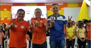 """""""Aguinaldo é meu grande líder político"""", diz prefeito Nobinho ao apresentar candidatos à população de Esperança"""