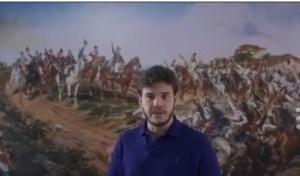 """Bruno faz alusão ao dia da Independência e conclama eleitores: """"O grito, dessa vez, é meu e seu"""""""
