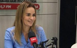 Em entrevista à CBN, Daniella defende maior participação da mulher na política