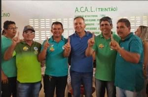Aguinaldo Ribeiro é abraçado pelo Curimataú paraibano e reforça compromisso com a região