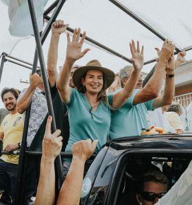 "Daniella visita municípios do interior e declara: ""Merecemos uma Paraíba diferente"""