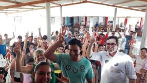 Lucas de Brito recebe apoios no Brejo e ouve apelos por segurança hídrica na região