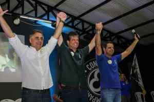 Ruy Carneiro recebe adesão de Marmuthe Cavalcanti em João Pessoa