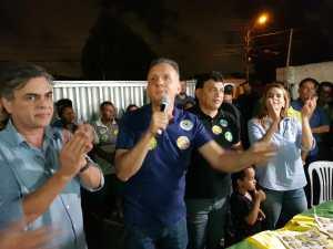 Em JP, vereadores Milanez Neto e Mangueira defendem reeleição de Aguinaldo Ribeiro à Câmara Federal