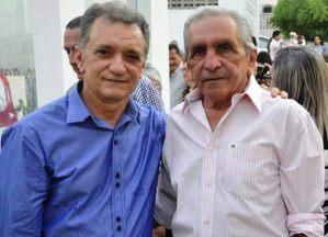 Galego Souza parabeniza prefeito de Catolé do Rocha, Leomar Maia pelo seu aniversário