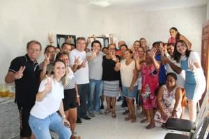 Em campanha pela reeleição, Lindolfo Pires visita bases políticas e cumpre agenda intensa