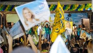Daniella participa de eventos políticos em Campina Grande e em Monteiro