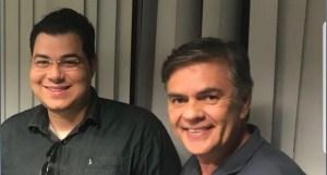 Presidente do MDB jovem anuncia apoio a Cássio Cunha Lima