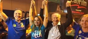 Aguinaldo comemora reeleição, vitória expressiva de Daniella e de aliados na ALPB