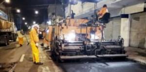 Programa 'Ação Asfalto' chega à marca de 150 km de vias asfaltadas e melhora mobilidade urbana em 32 bairros da Capital