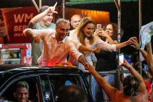 Caravana 43: População de João Pessoa lota as ruas para ver Lucélio Cartaxo