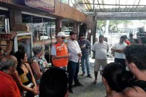PMJP dá assistência aos comerciantes prejudicados com incêndio na Expofeira