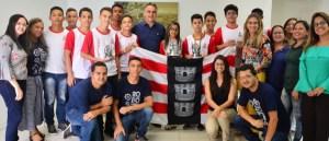 Cartaxo recebe vencedores do Campeonato Latinoamericano de Robótica e destaca investimento no ensino de JP