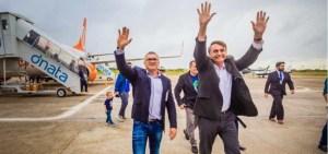 Filho de Bolsonaro que abandonou transição critica Julian Lemos: 'Nunca foi coordenador do Nordeste'