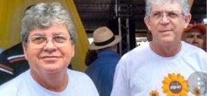 BASTIDORES: Ricardo Coutinho e João Azevêdo discordam de nome para presidir 2° biênio da Mesa Diretora da ALPB