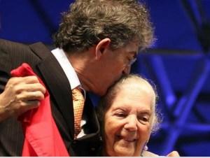 Velório e cremação do corpo da mãe de Ricardo Coutinho será nesta segunda-feira em Cabedelo