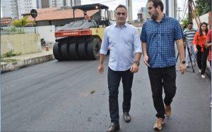 Ação Asfalto: Cartaxo lança nova etapa que vai contemplar 18 bairros da capital