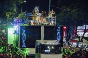 Muriçoquinhas e Melhor Idade desfilam nesta segunda e Virgens de Tambaú 'arrastam' milhares de foliões na Via Folia