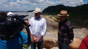 Deputado Galego Souza visita obras do Eixo Norte da transposição do rio São Francisco