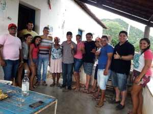Galego Souza aproveita o fim de semana para visitar bases, no Sertão