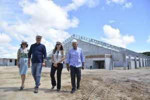 Cartaxo visita obras do CEI em Mangabeira e destaca a ampliação do ensino em Tempo Integral