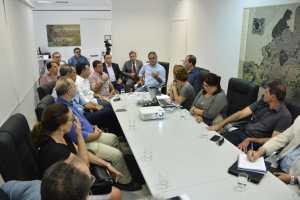 Prefeito apresenta investimentos no Centro Histórico ao setor produtivo e entidades parabenizam gestão