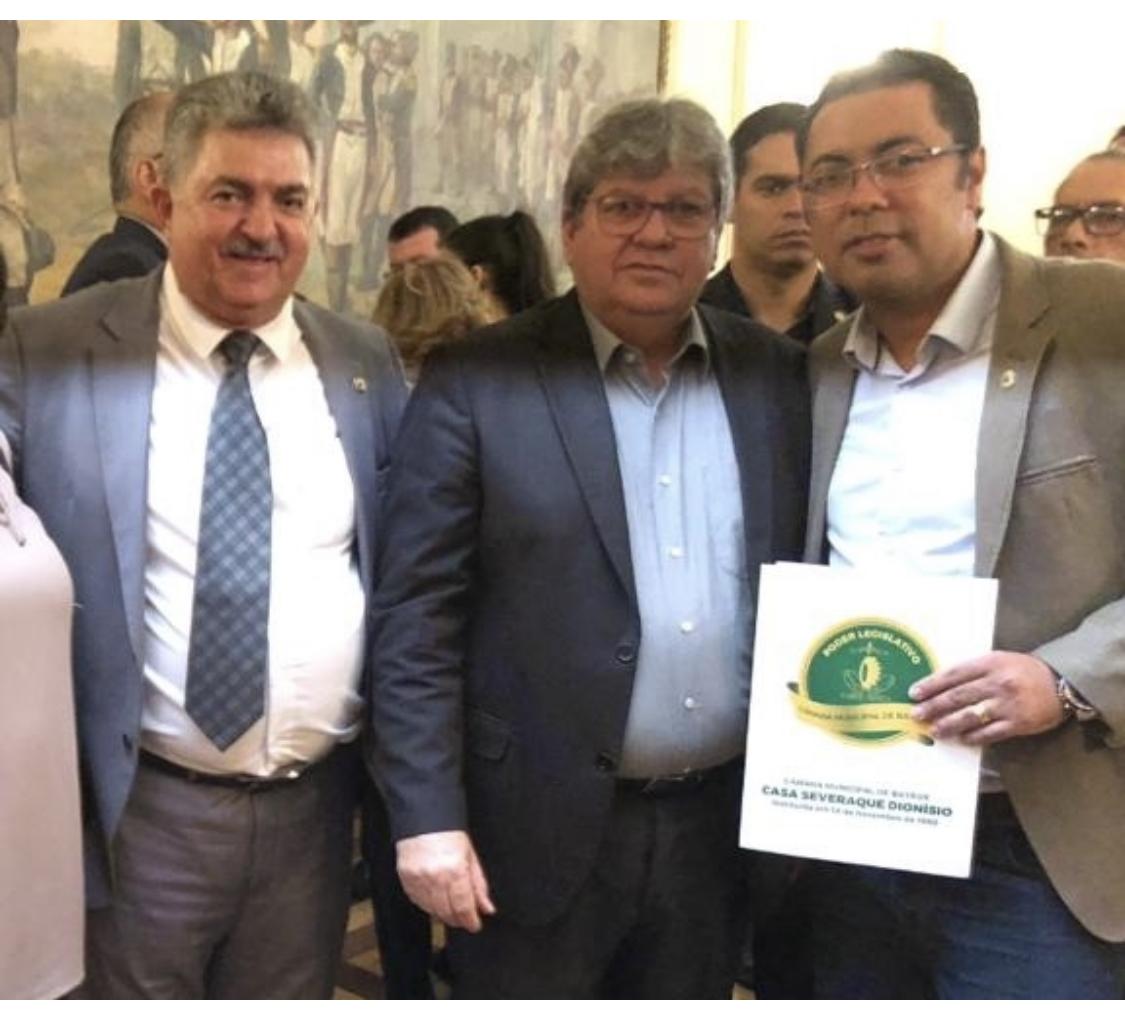 Com articulação de Kita, Bayeux deve ganhar mais duas importantes obras do Governo do Estado
