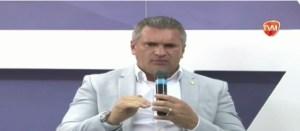 """VÍDEO – Julian Lemos diz que governo Ricardo Coutinho será marcado pelo maior escândalo de corrupção da PB e dispara: """"Teu discurso está desmoralizado"""""""