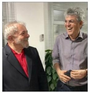 Ricardo Coutinho será testemunha de defesa do ex-presidente Lula