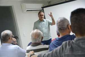 Cartaxo apresenta projeto do Parque Ecológico Sanhauá a administradores e destaca investimentos na cultura e história de JP